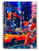 Nyc 2 Spiral Notebook