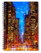 Nyc 4 Spiral Notebook