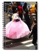 Nyc Ball Gown Walk Spiral Notebook