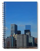 Nyc Financial District Spiral Notebook