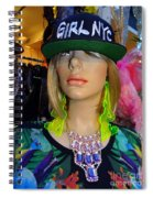 Nyc Girl Spiral Notebook