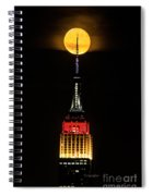Nyc Moonstruck For World Cup Spiral Notebook