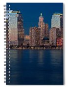 Nyc Pano Spiral Notebook