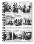 Nyc Police, 1859 Spiral Notebook