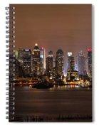 Nyc Skyline Spiral Notebook