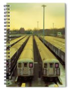 Nyc Subway Cars Spiral Notebook