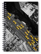 Nyc Taxi Spiral Notebook