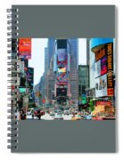 New York City Times Square Spiral Notebook