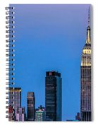 Nyc Under The Supermoon Spiral Notebook