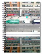 Nyc Urban Reflection Spiral Notebook