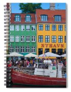 Nyhavn 17 Spiral Notebook