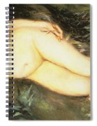 Nymph At The Stream Spiral Notebook