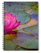 Nymphaeaceae Spiral Notebook