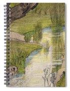 Nymphs Bathing Spiral Notebook