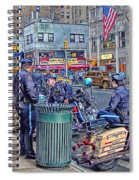 Nypd Highway Patrol Spiral Notebook