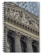 Nyse  New York Stock Exchange Wall Street Spiral Notebook