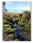 Nz Bridge Spiral Notebook