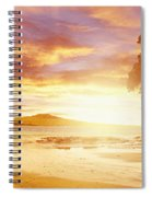 Nz Sunlight Spiral Notebook