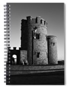 Briens Tower At The Cliffs Of Moher Spiral Notebook