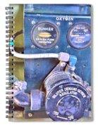 O2 Regulator Spiral Notebook