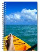 Oahu Toes Spiral Notebook