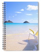 Oahu Lanikai Beach Spiral Notebook