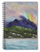 Oahu North Shore Rainbow Spiral Notebook