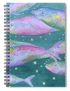 Oahu Tiny Bubbles Spiral Notebook