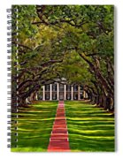 Oak Alley II Spiral Notebook