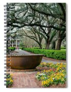 Oak Alley Landscape In Vacherie Louisiana Spiral Notebook