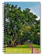 Oak Alley Plantation 2 Spiral Notebook