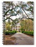 Oak Alley Rear Entrance Spiral Notebook