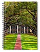Oak Alley Spiral Notebook