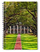 Oak Alley Spiral Notebook