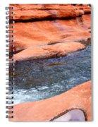 Oak Creek At Slide Rock Spiral Notebook