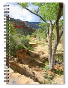 Over Slide Rock Spiral Notebook