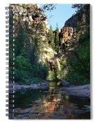Oak Creek Canyon Spiral Notebook