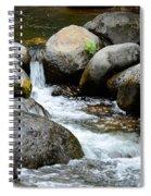 Oak Creek Water And Rocks Spiral Notebook