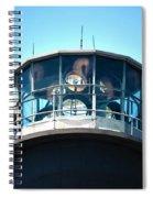 Oak Island Lighthouse Beacon Lights Spiral Notebook
