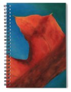 Oak Leaf Oil Painting Spiral Notebook