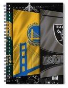 Oakland Sports Teams Spiral Notebook