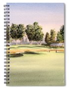 Oakmont Golf Course 14th Spiral Notebook