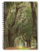 Oaks Of Georgia Spiral Notebook