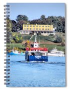 Oasis On The Ocean Spiral Notebook