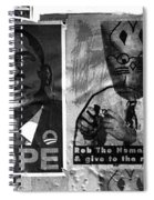 Obama Election Poster Spiral Notebook