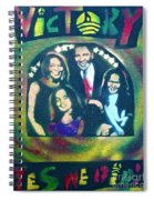 Obama Family Victory Spiral Notebook