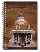 Obedience - The Church Of Saint Joseph's Carpentry Spiral Notebook