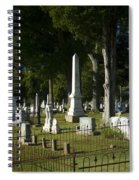 Obelisk And Headstones Spiral Notebook