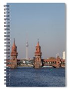 Oberbaum Bridge - Berlin Spiral Notebook