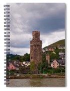 Oberwesel Am Rhein Spiral Notebook